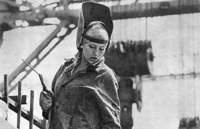Кошмарная красота советских женщин: когда в 20 выглядели на 50.