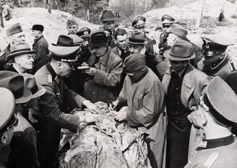 Кто на самом деле расстреливал польских  военнопленных офицеров под Катынью.