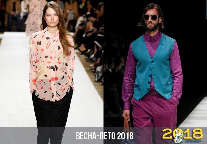 b4f3bfc1715 Модные рубашки весна-лето 2018 года