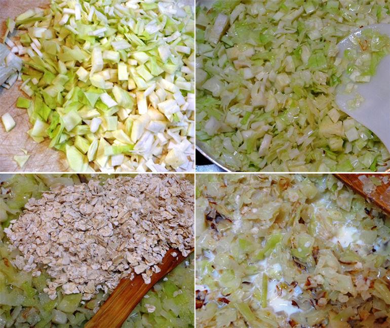 Очень вкусные диетические капустные котлеты