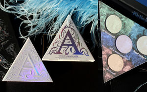 Kat Von D Alchemist Holographic Face&Eye Palette Review Swatches / обзор.