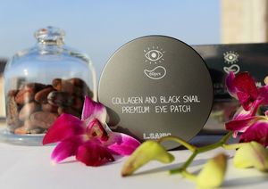 L.Sanic Collagen and Black Snail Premium Eye Patch Review / обзор.