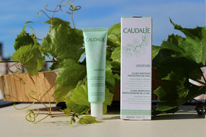Caudalie Vinopure Skin Perfecting Mattifying Fluid Review / обзор.