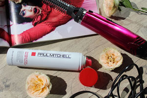 Paul Mitchell Flexible Style Hot Off The Press Review / Термозащитный спрей-фиксатор обзор.