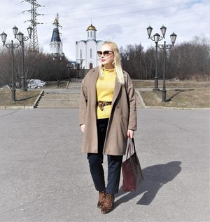 "OOTD:бежевое палото и ""звериные акценты""........."