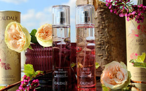 Caudalie The Des Vignes Fresh Fragrance, Caudalie Rose de Vigne Fresh Fragrance / обзор.