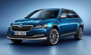 Skoda Superb Scout 2019 – новый чешский вседорожный универсал Шкода Суперб Скаут