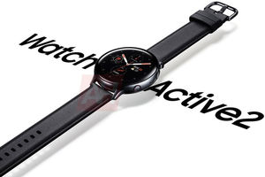 Дизайн Samsung Galaxy Watch Active 2 раскрыт на пресс-рендере