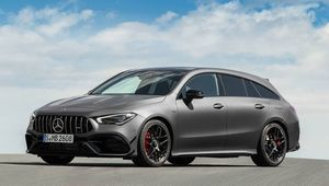 Mercedes-AMG CLA 45 Shooting Brake 2020 – универсал Мерседес CLA 45 Шутинг Брейк