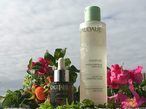 Caudalie Vinopure Clear Skin Purifying Toner, Caudalie Detox Oil Review / отзывы.