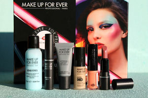 GlamBox / Make Up For Ever review, swatches.