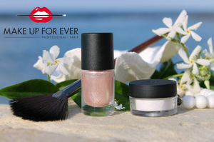 Make Up For Ever Star Lit Liquid #2, Make Up For Ever Star Lit Powder #02, Make Up For Ever Brush #120  review / Обзор
