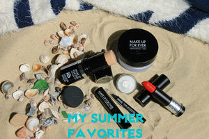 My Summer Favorites - Make Up For Ever