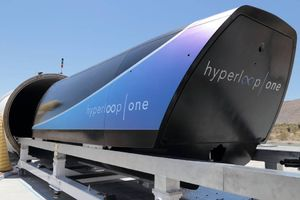 Испытатели Virgin Hyperloop One разогнали капсулу до 387 км/ч