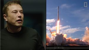 Реакция Илона Маска на запуск Falcon Heavy
