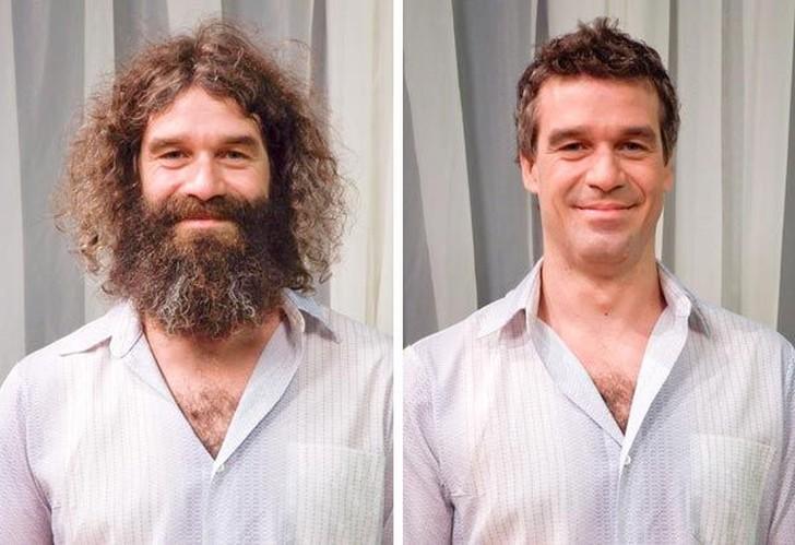 покорили поклонников смена имиджа мужчины до и после фото фургон