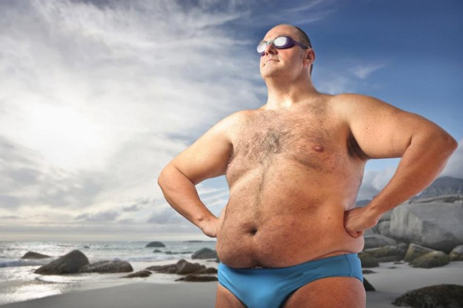 Фото толстого человека прикольное