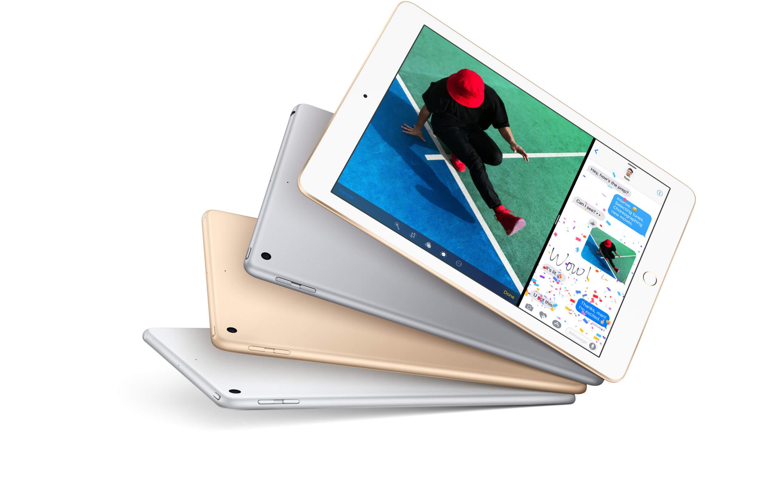 iPad Теперь с поддержкой Apple Pencil А ещё он тонкий лёгкий и мощный С дисплеем Retina