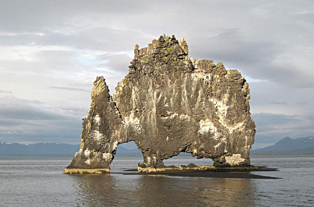 лик дьявола на вулкане в исландии что оно