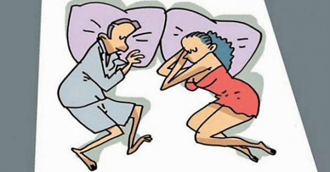 10 поз во сне, которые четко характеризуют отношения пары
