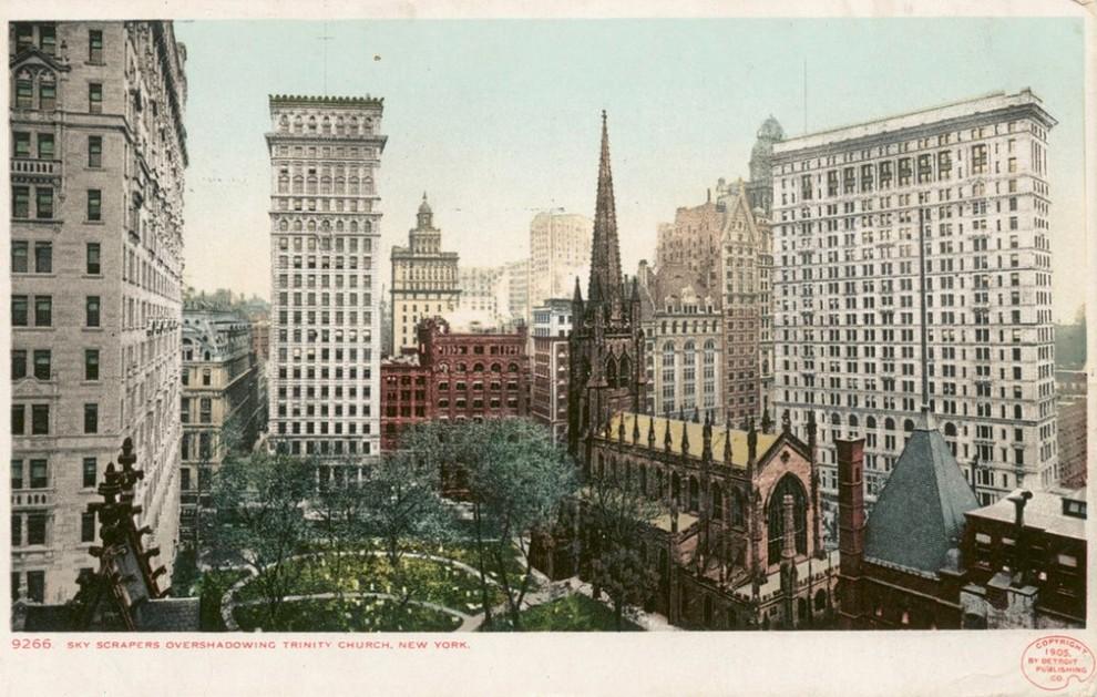 Как строился Нью-Йорк: архивные фотографии начала 20-го столетия
