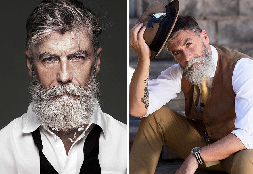 Пожилые бородатые мужики #1