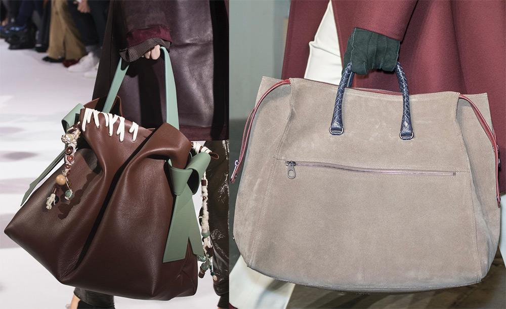 687226cd Подобные бездонные сумки когда-то носили только спортсмены, теперь  дизайнеры рекомендуют попробовать поднять такую ношу и самым обычным  девушкам.