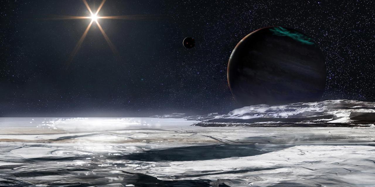 Znalezione obrazy dla zapytania: Океаны Солнечной системы