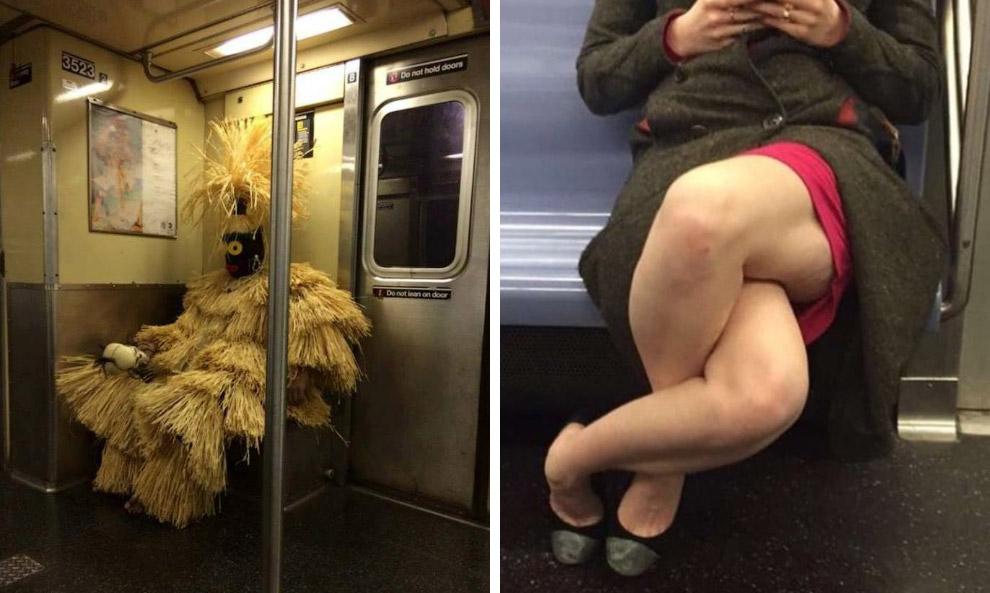Московское метро смешные картинки